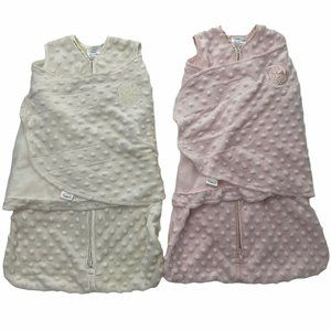 Lot of 2 Halo Swaddle Wearable Blankets